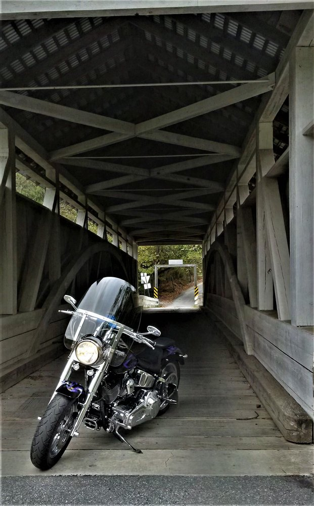 Hewitt Covered Bridge: 1416 Town Creek Rd, Clearville, PA