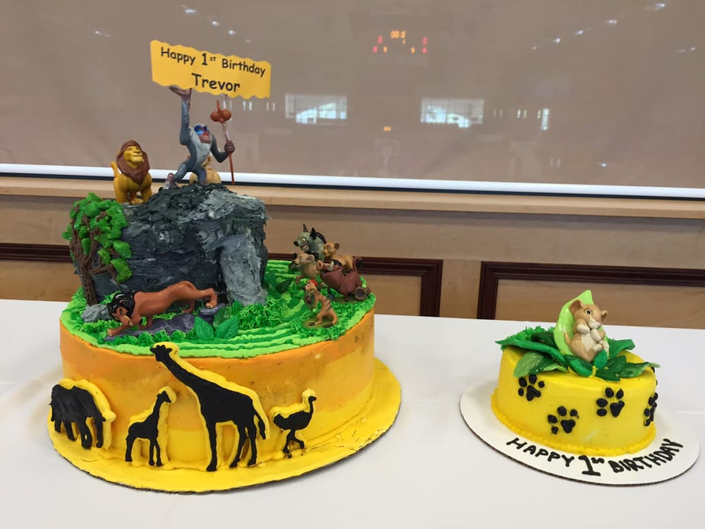 Lion King Birthday Cake And Coordinating Smash Cake Yelp