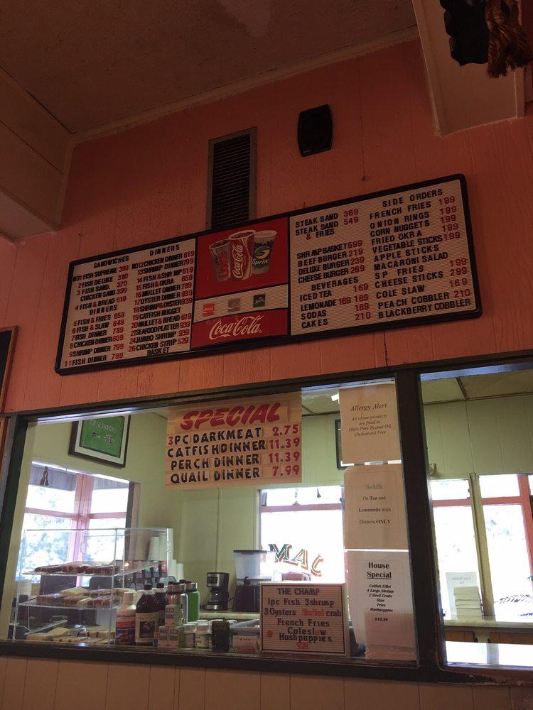 James Fish & Chicken: 905 S Wayne St, Milledgeville, GA