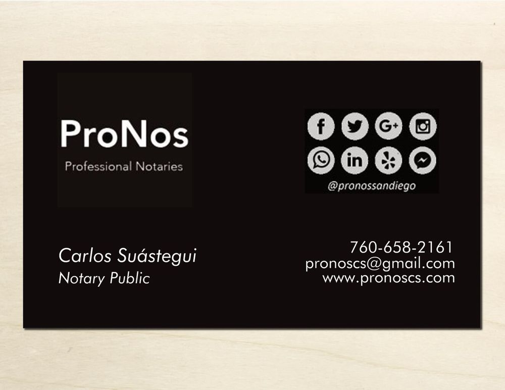 ProNos - Get Quote - Notaries - 403 N Escondido Blvd, Escondido ...