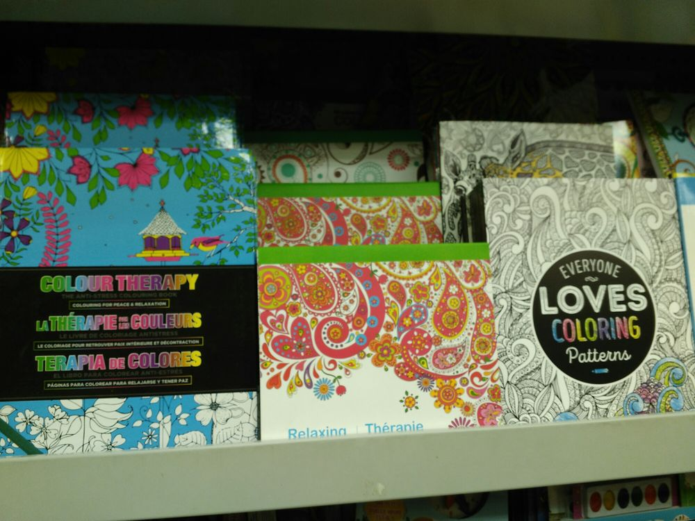 Trendy Adult Coloring Books