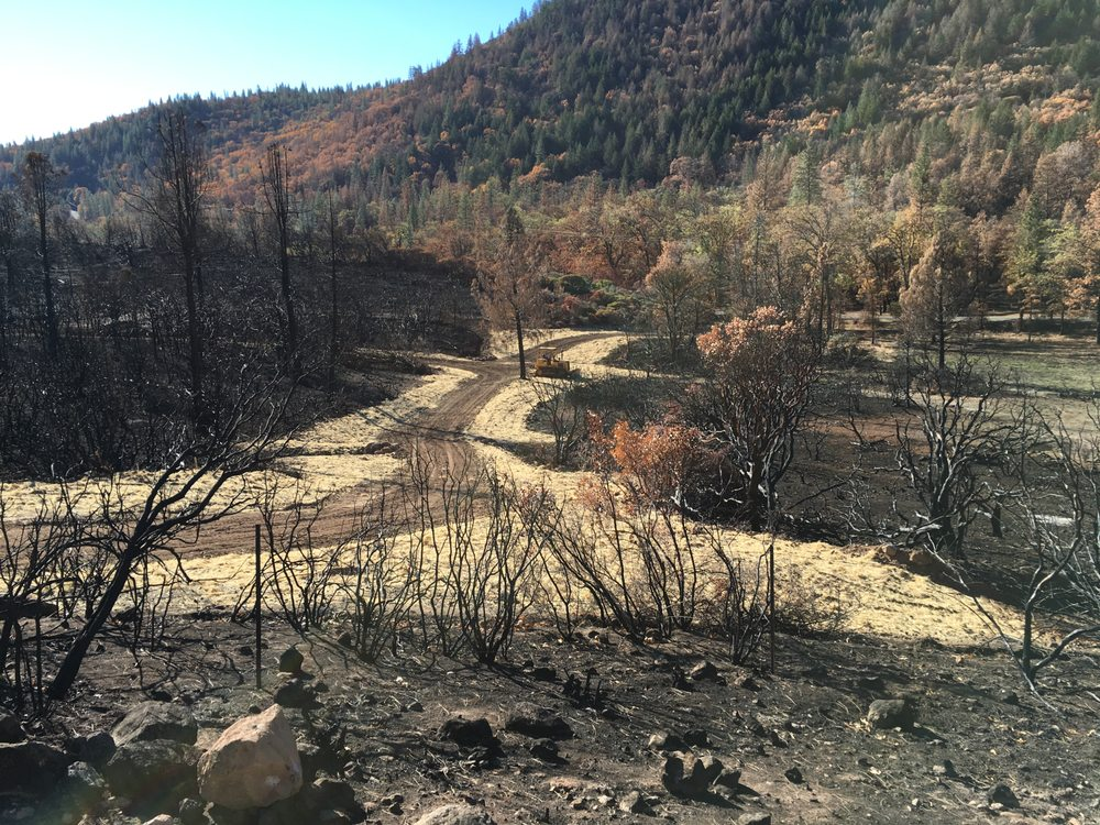 Fire Wise Landscaping: 10336 Loch Lomond Rd, Loch Lomond, CA