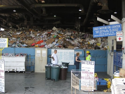 Burbank Recycling Center >> Burbank Recycle Center 500 S Flower St Burbank Ca Recycling