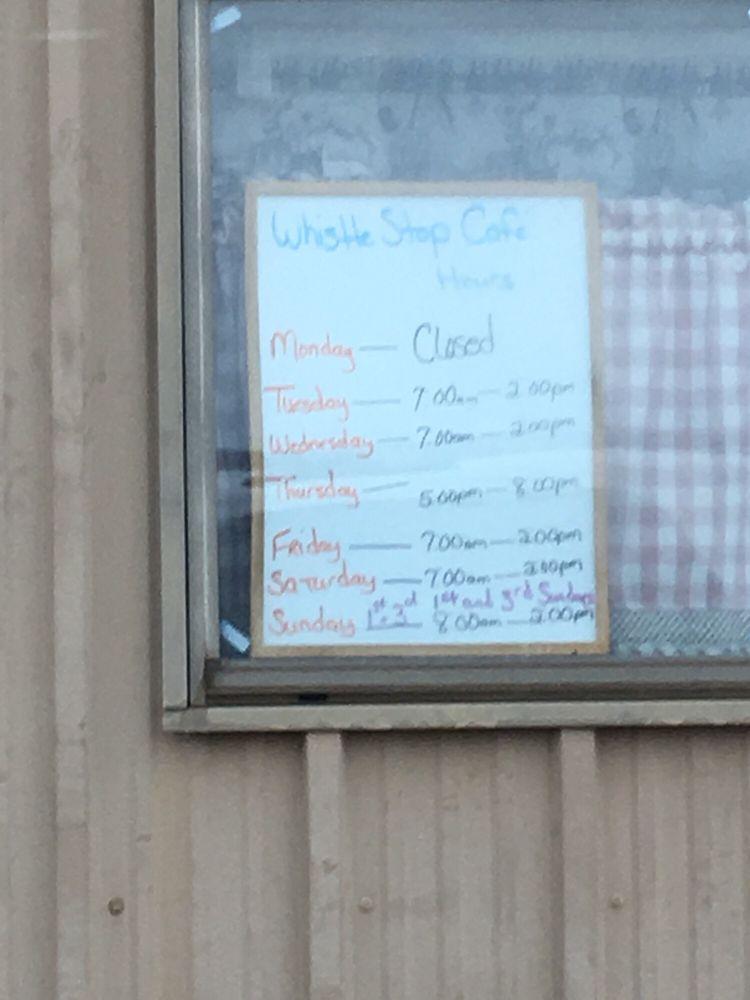 Whistle Stop Cafe: 106 Main St, Walton, KS