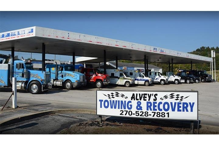 Alvey's Towing & Recovery: 517 Flint Ridge Rd, Horse Cave, KY