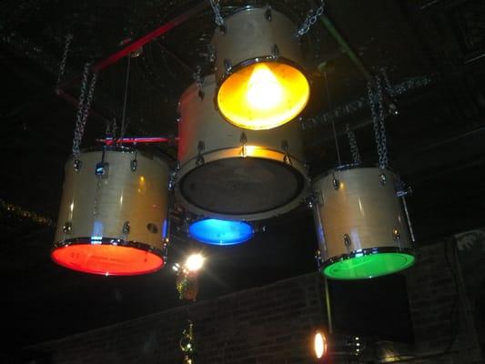 Drum Set Chandelier   Yelp  Drum Set Chande...