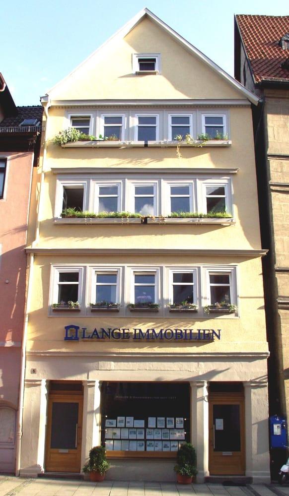 Lange immobilien makler herrngasse 6 coburg bayern for Makler immobilien