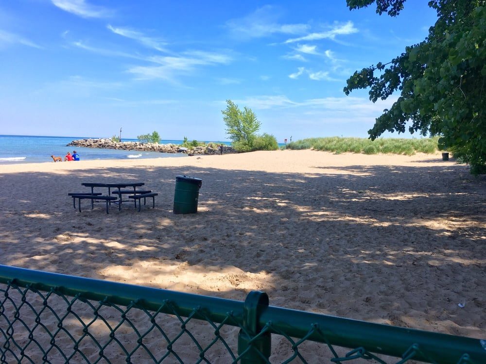 Gillson Park Beach Wilmette Address