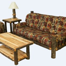 High Quality Photo Of Rustic Log Furniture   Alamosa, CO, United States. 5 Piece Hickory
