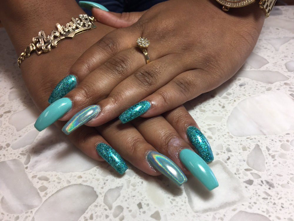 I Color Nails Spa: 629 12th St, West Columbia, SC
