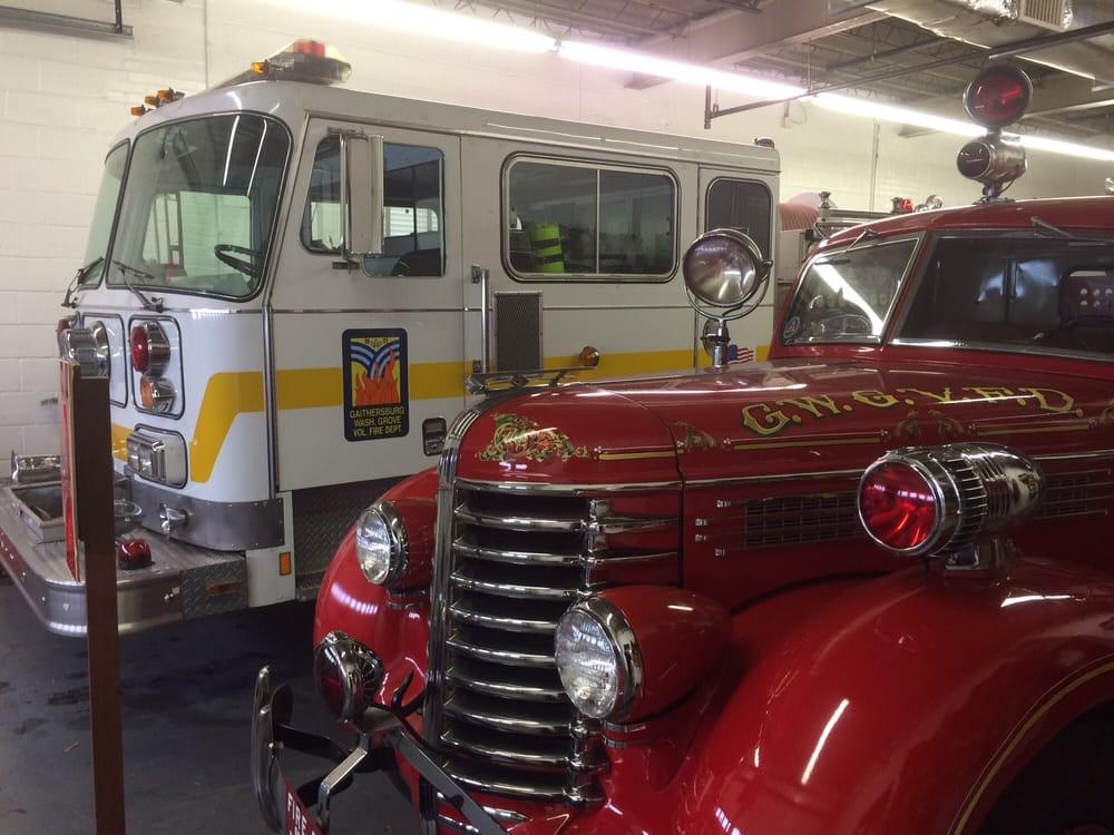 Gaithersburg Washington Grove Fire Museum: 13 E Diamond Ave, Gaithersburg, MD