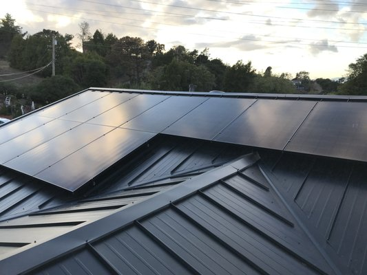 Blue Mountain Solar Power