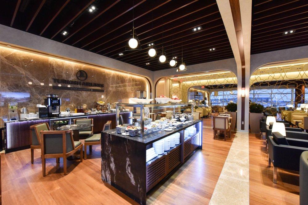 Turkish Airlines Lounge: 1 Saarinen Cir, Dulles, VA