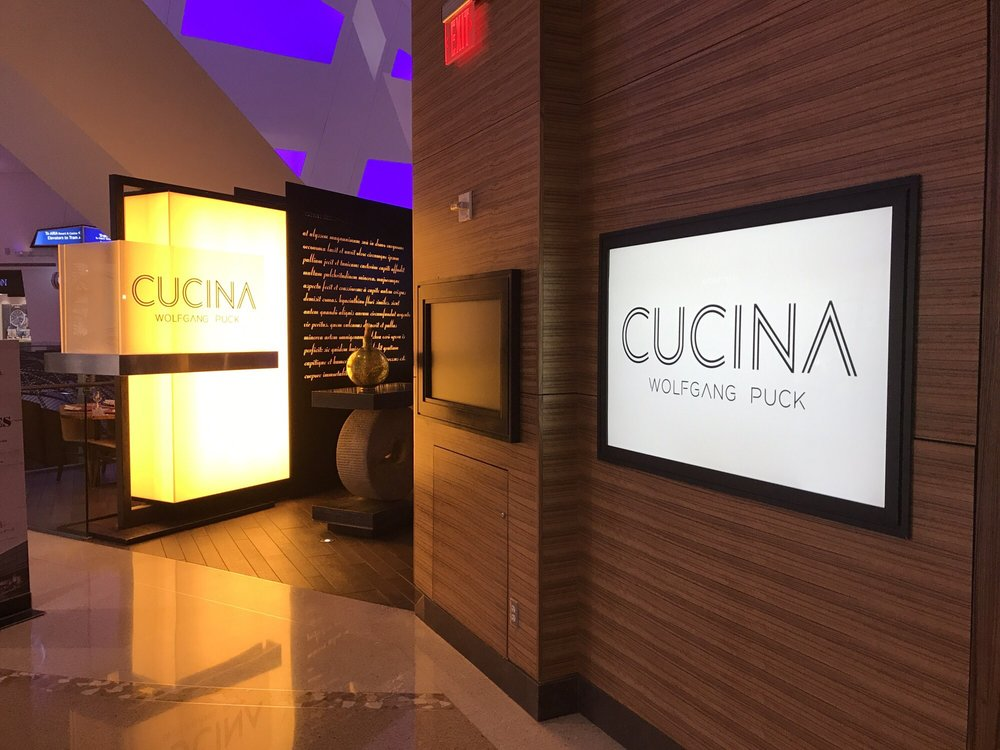 Dinner At Wolfgang Puck Cucina At The Shops At Crystals July 11th