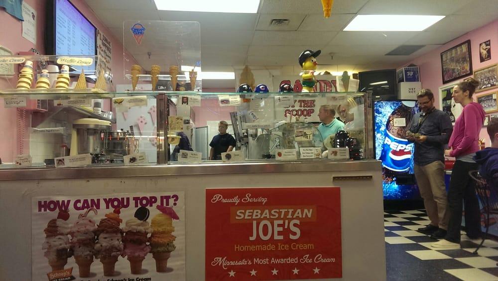 Serving Sebastian Joes Ice Cream Yelp