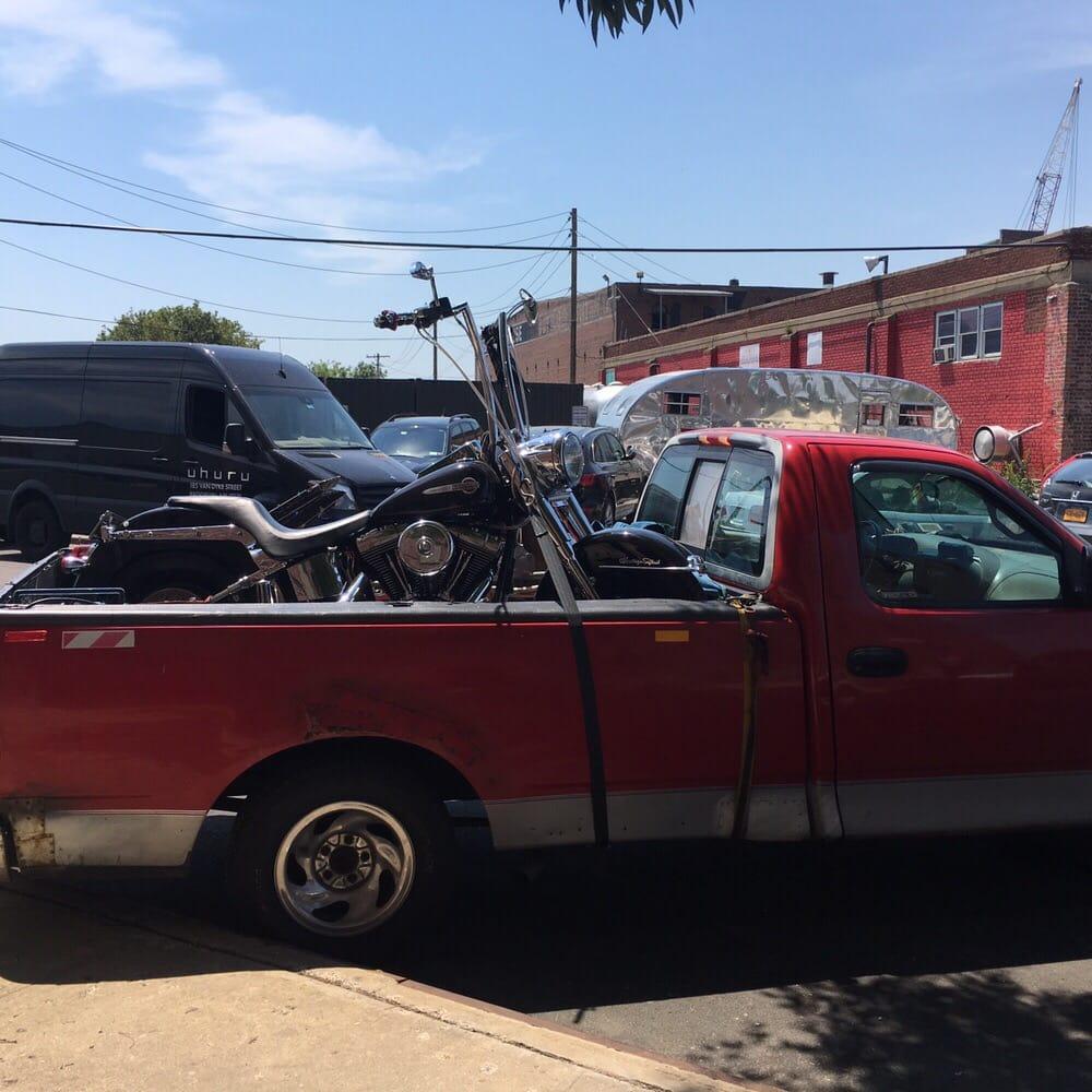 Andrew Trucker Motorcycle Towing