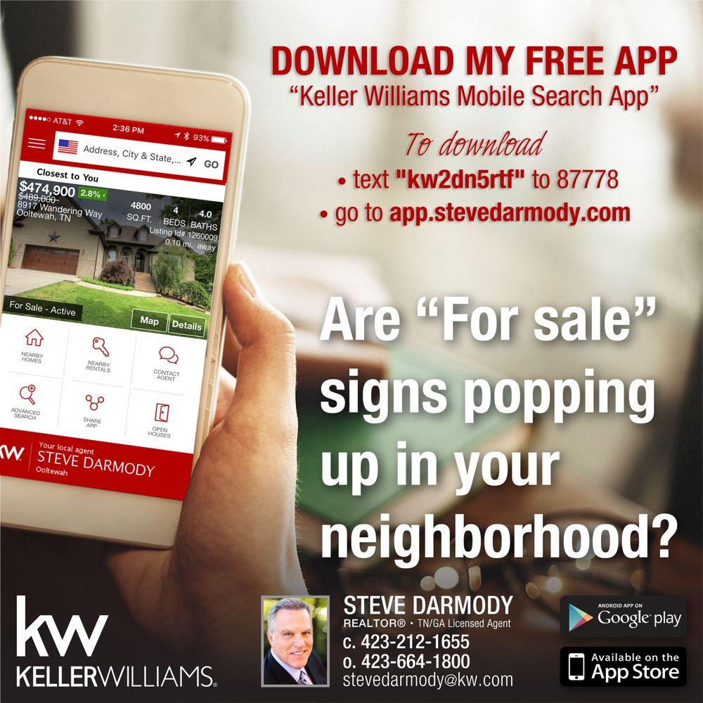 Steve Darmody - Keller Williams Realty: 9219 Lee Hwy, Ooltewah, TN