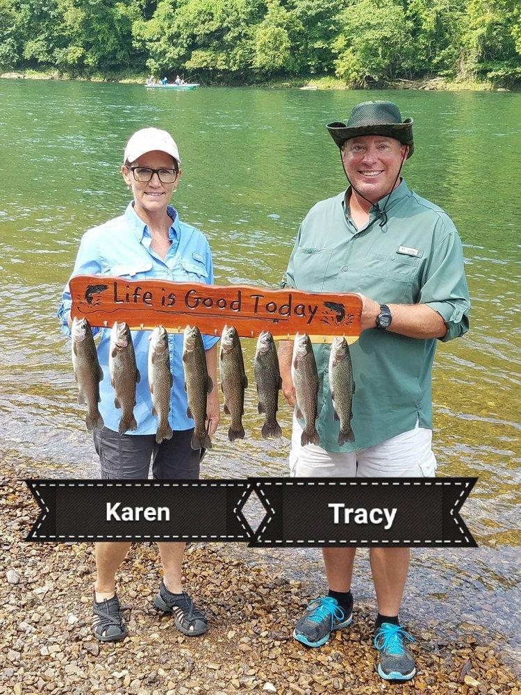 Greg's White River Guide Service: 163 Blou Clower Point, Bull Shoals, AR