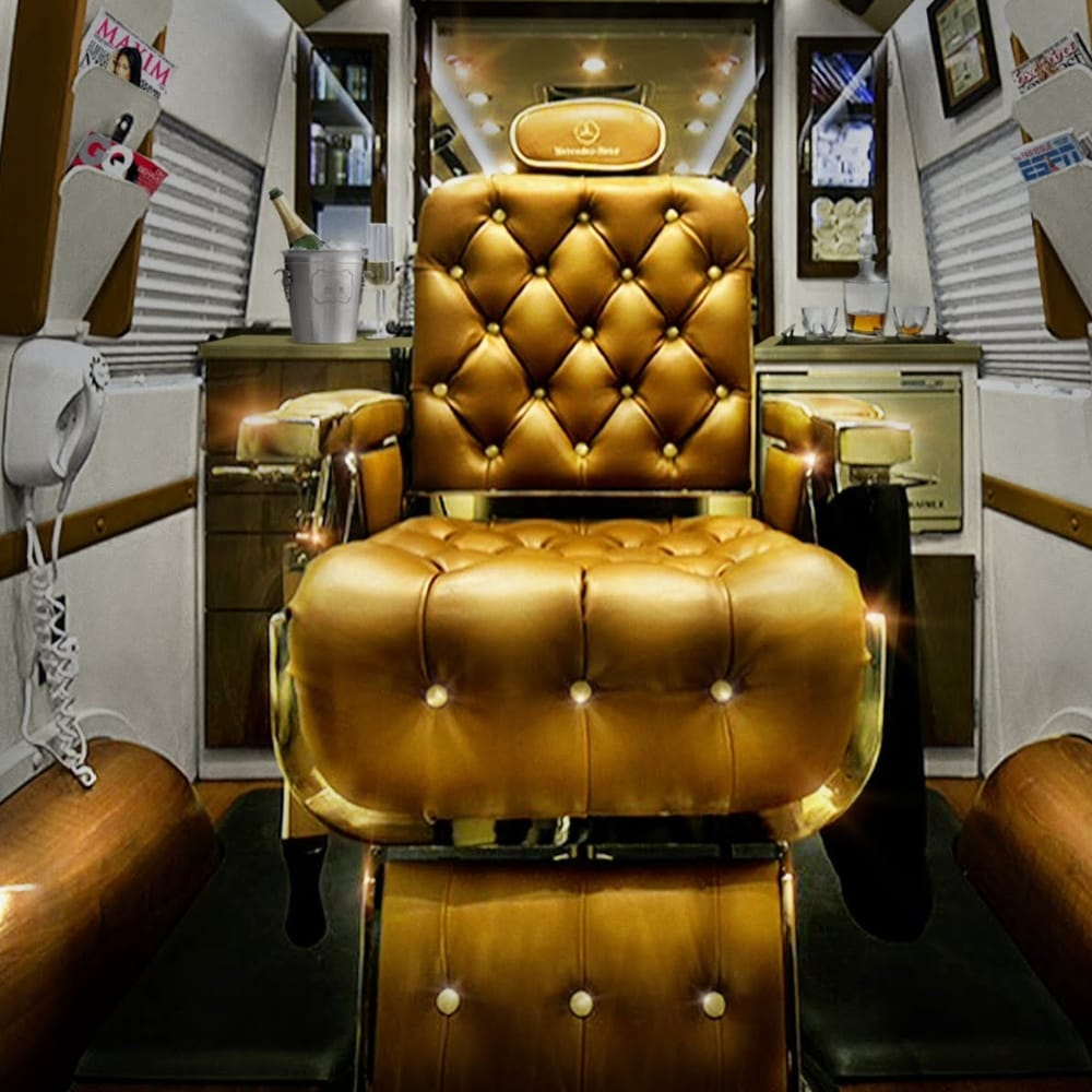 Photo Of Luxury Mobile Barber Beverly Hills Ca United States This