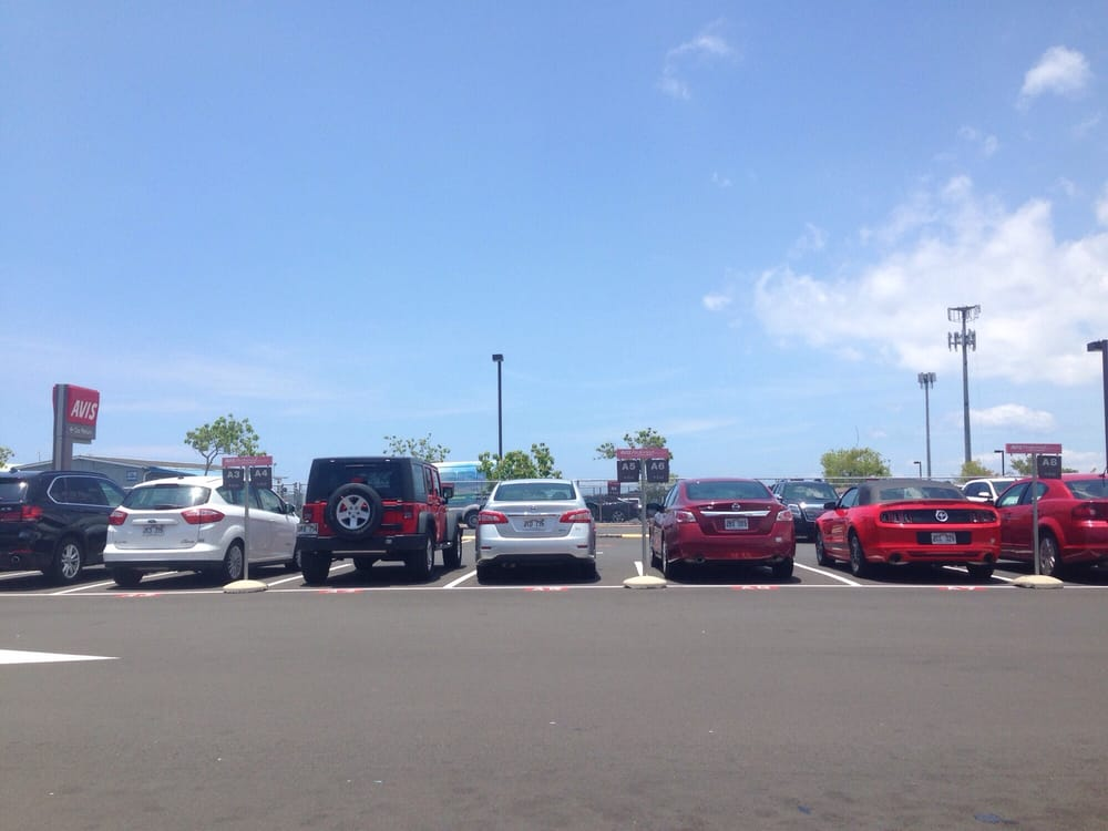 Avis Car Rental Kailua Kona
