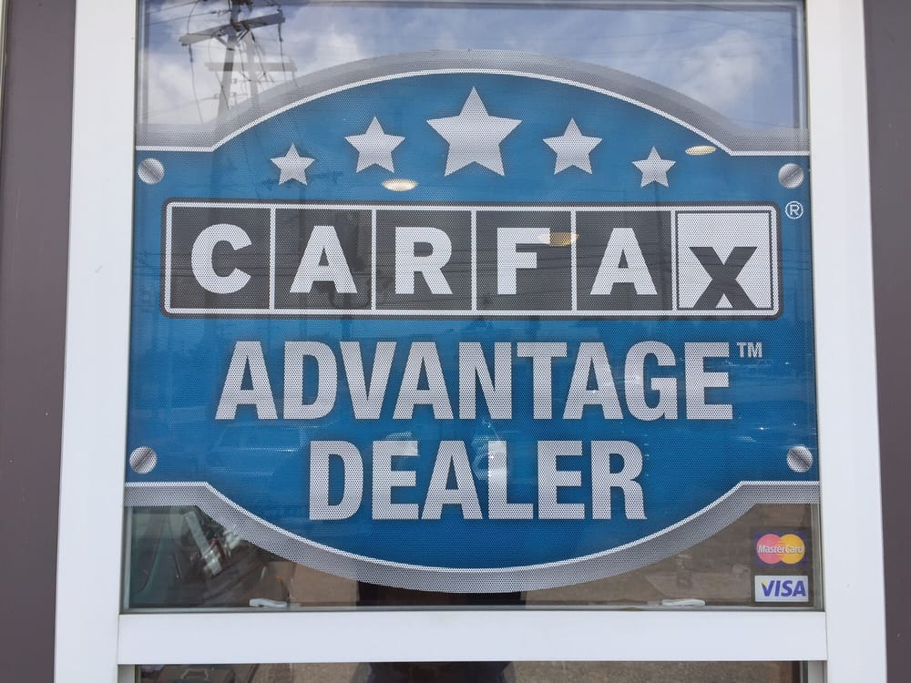 Carfax Advantage Dealer Get A Free Carfax At Town Auto Sales Yelp