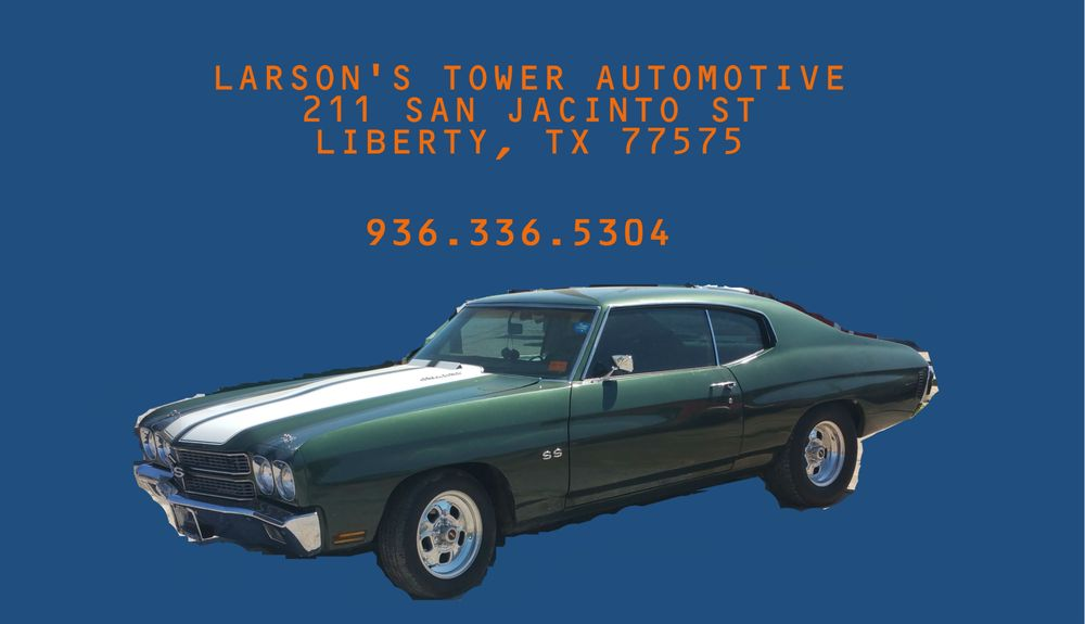 Larson's Tower Automotive: 211 San Jacinto St, Liberty, TX