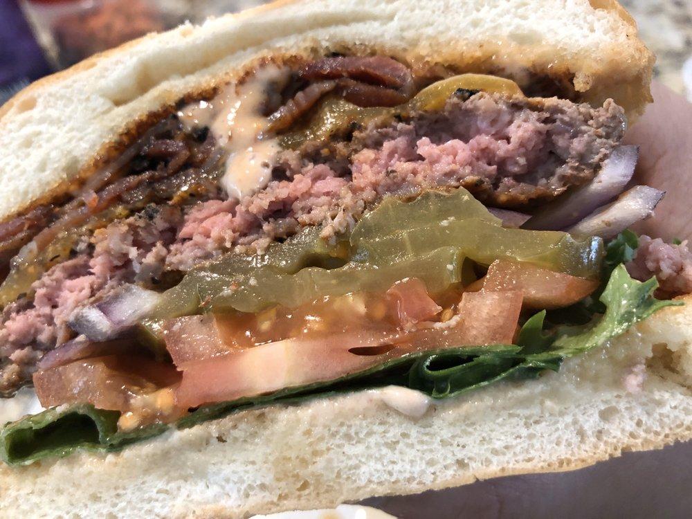 Blazing Onion Burger Company: 13195 Newcastle Commons Dr, Newcastle, WA
