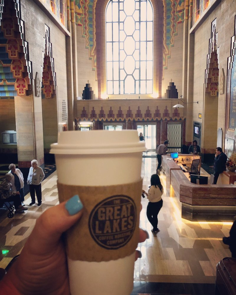 Great Lakes Coffee: 500 Griswold St, Detroit, MI