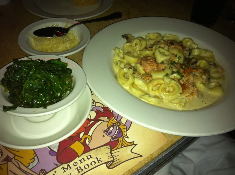 Tortellini with salmon yelp for Kings fish calabasas