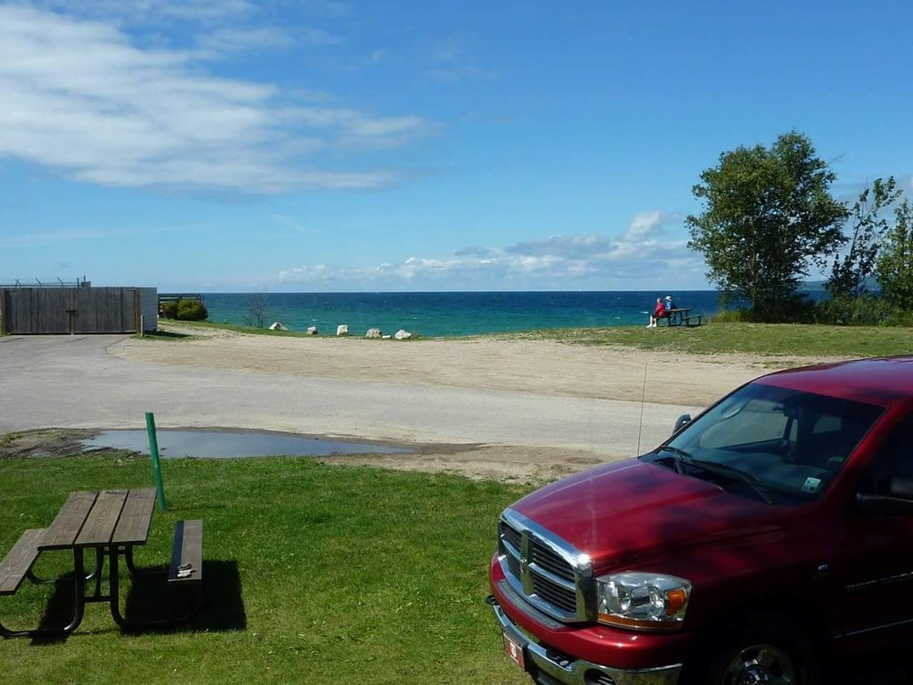 Magnus Park Campground: 901 West Lake St, Petoskey, MI