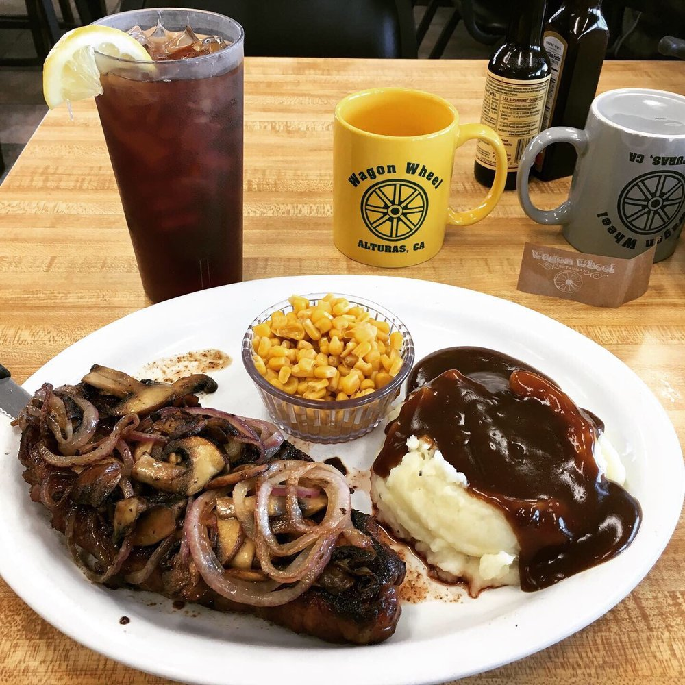 Wagon Wheel Cafe: 308 W 12th St, Alturas, CA