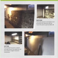 Merveilleux Photo Of All Dry Basement   Ballston Spa, NY, United States. Durawall  Installation