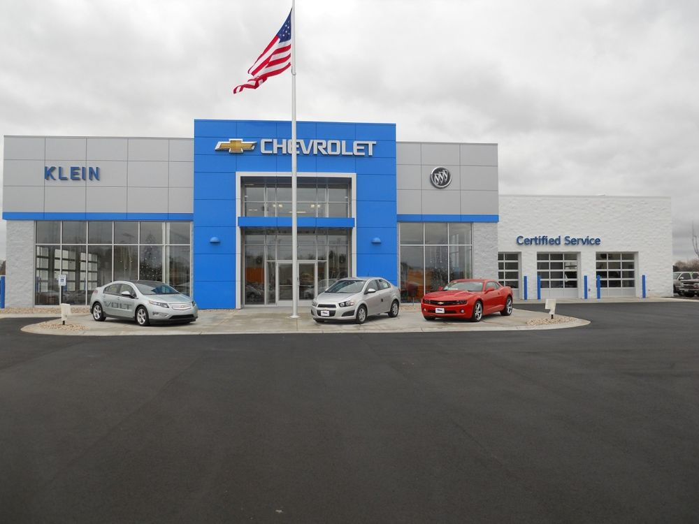 Klein Chevrolet Buick Car Dealers 111 W Madison St