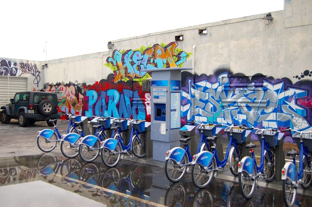 Citi Bike: 723 Washington Ave, Miami Beach, FL