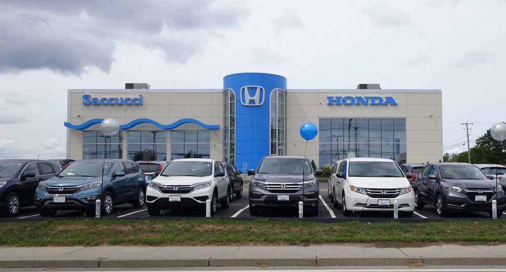 Saccucci honda 26 reviews dealerships 1350 w main rd for Honda dealerships in ri