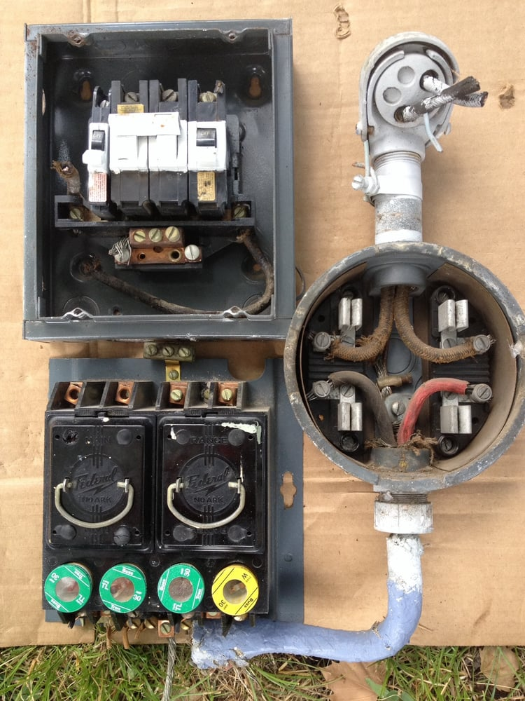 This a 1948 FEDERAL PACIFIC This is a 1948 FEDERAL PACIFIC ... Federal Electric Panel on