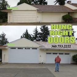 Hung Right Doors Garage Door Services 10 John Wayne Ln