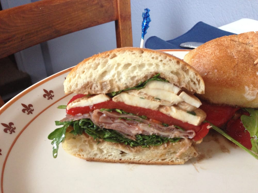 The Kathleen Sandwich - prosciutto , roasted peppers ...