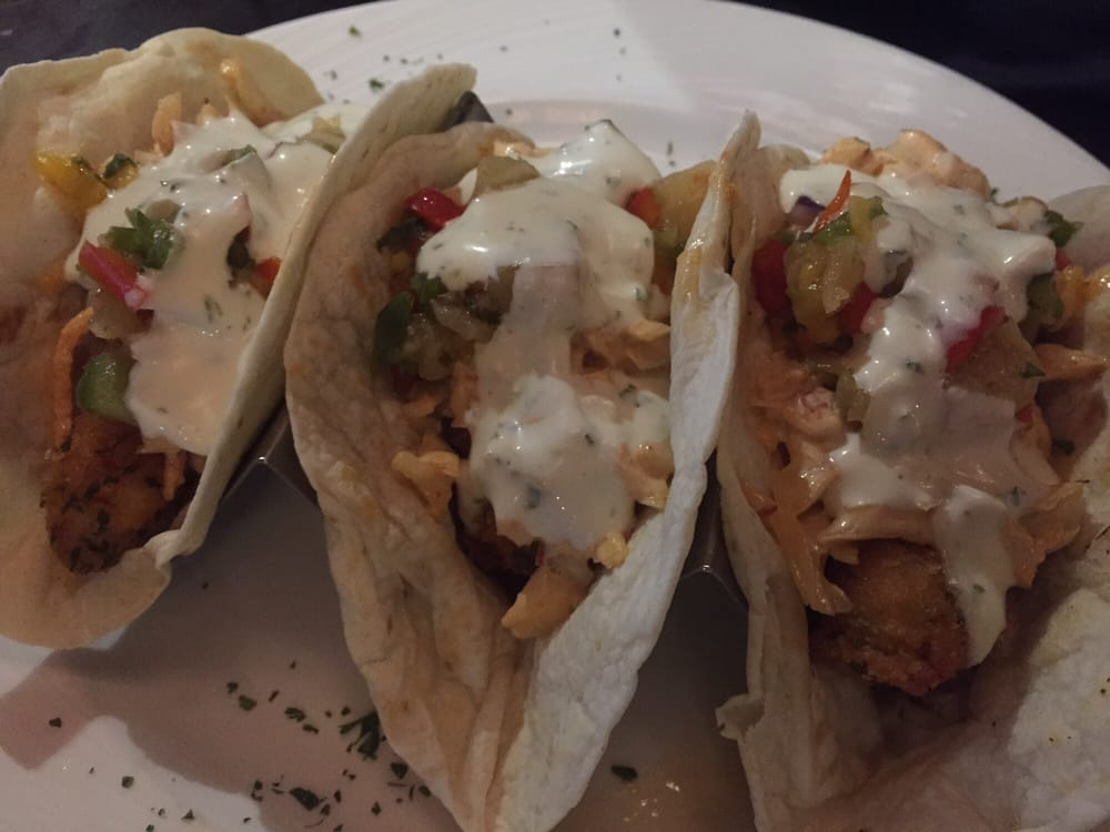 Fish tacos so full and delicious yelp - Element bar cuisine ...