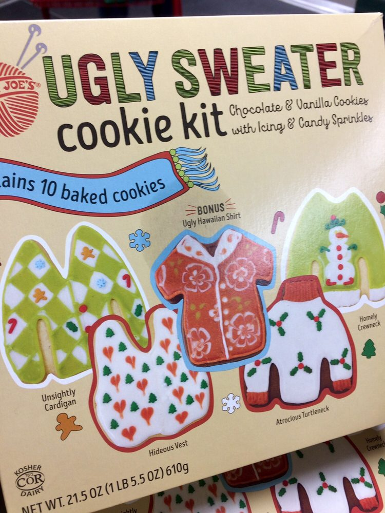 Ugly Sweater Cookie Kit Only Available During Christmas Season Or