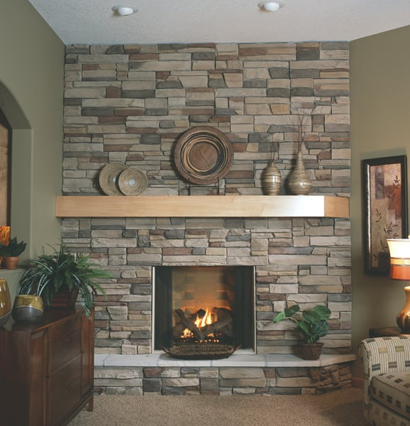 Boulder Creek Western Ledge Stak - Mustang with a Heat-N-Glo ...