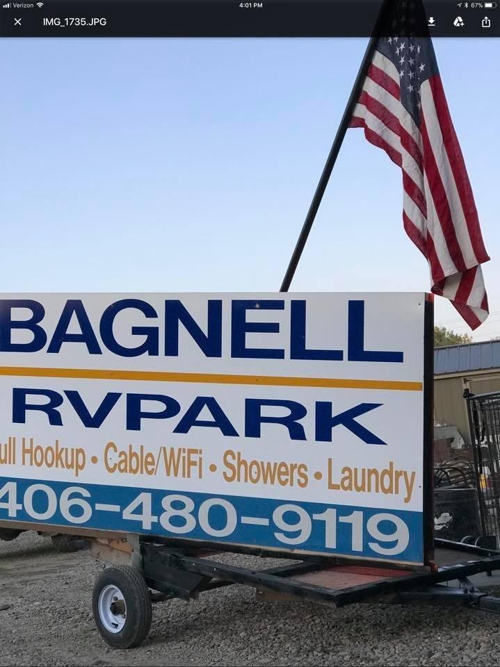 Bagnell RV Park: 601 Warren Ln, Sidney, MT