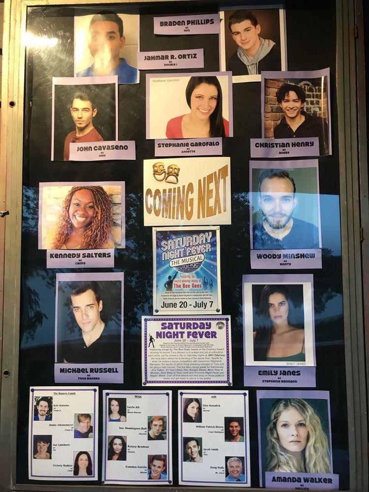 Social Spots from Cortland Repertory Theatre