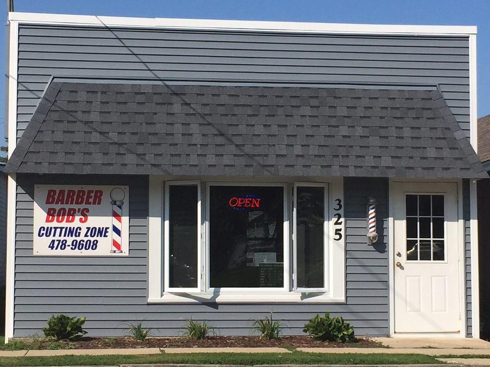 Barber Bob's Cutting Zone: 325 South State St, Manhattan, IL