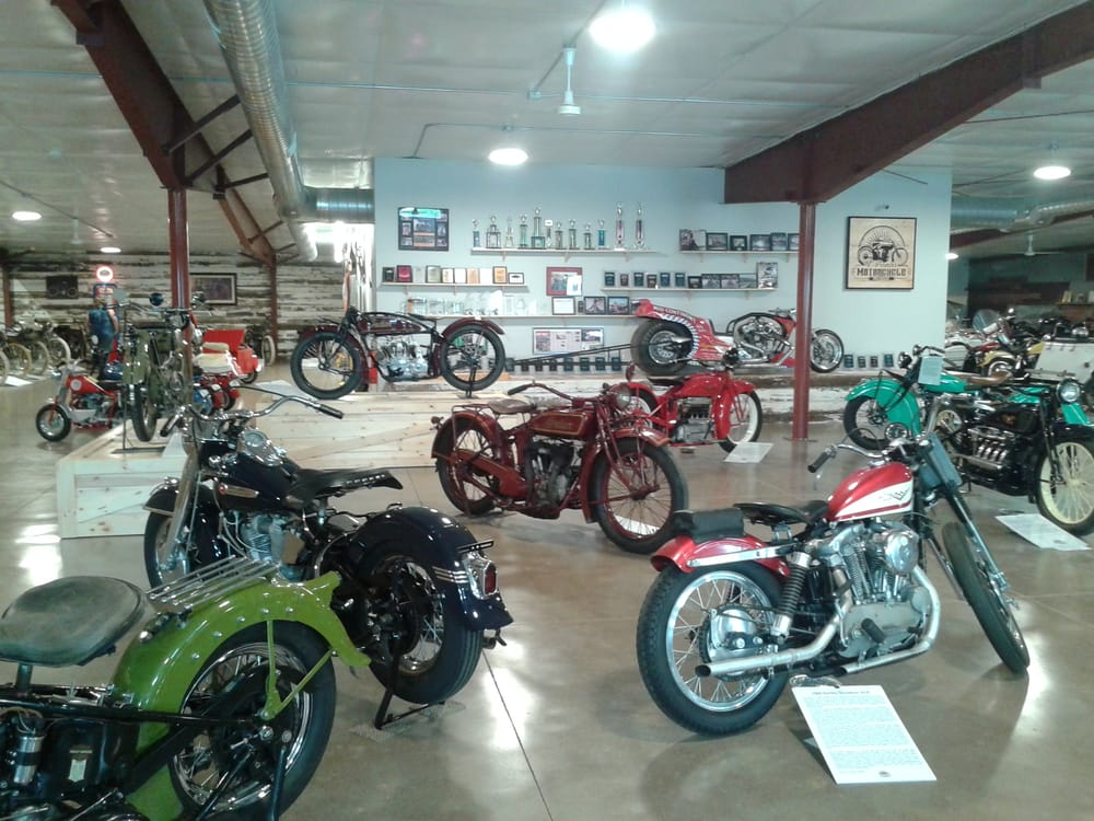 St. Francis Motorcycle Museum: 110 E Washington St, Saint Francis, KS