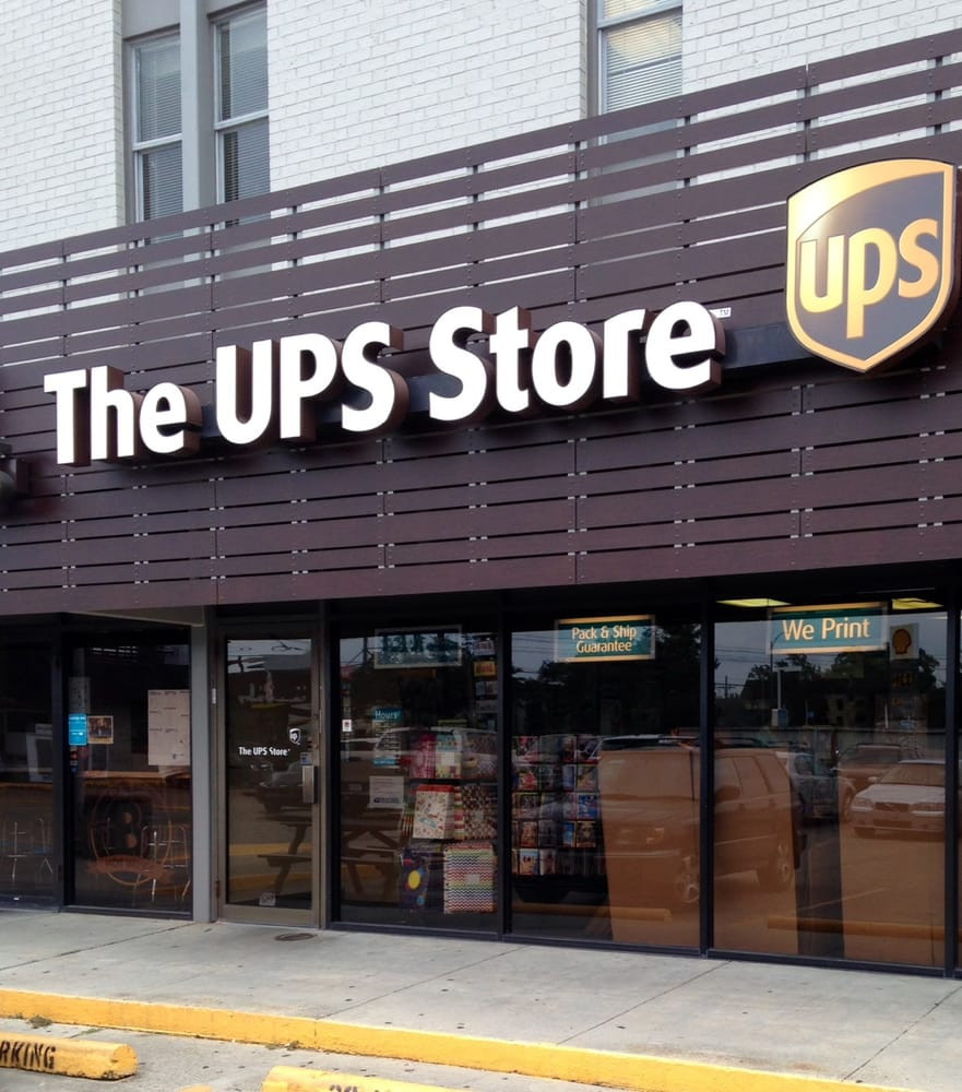 the ups store 17 reviews printing services 6221 s claiborne ave fontainebleau new. Black Bedroom Furniture Sets. Home Design Ideas