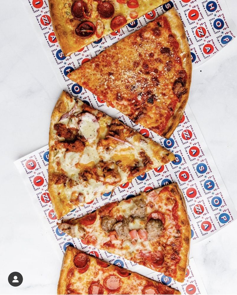 Food from Pizza Shop