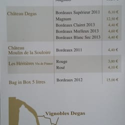 Vignobles Degas - Wineries - 38 route de Créon, Saint