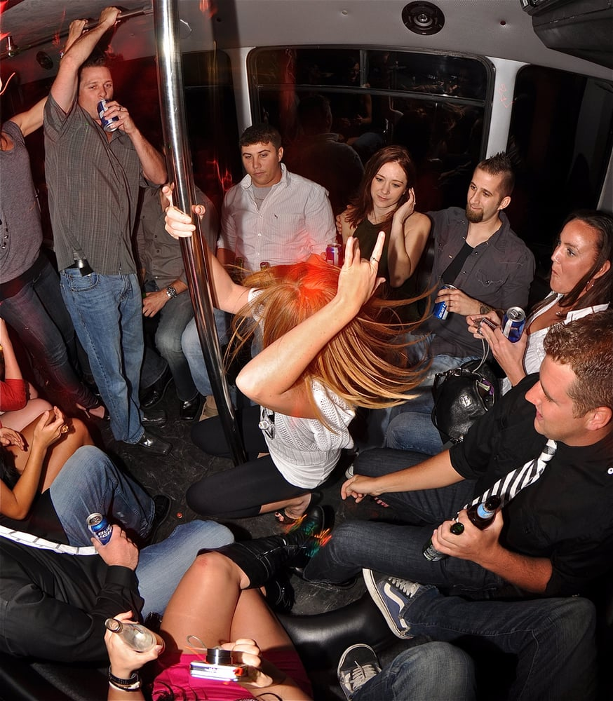 Fun San Diego Party Bus