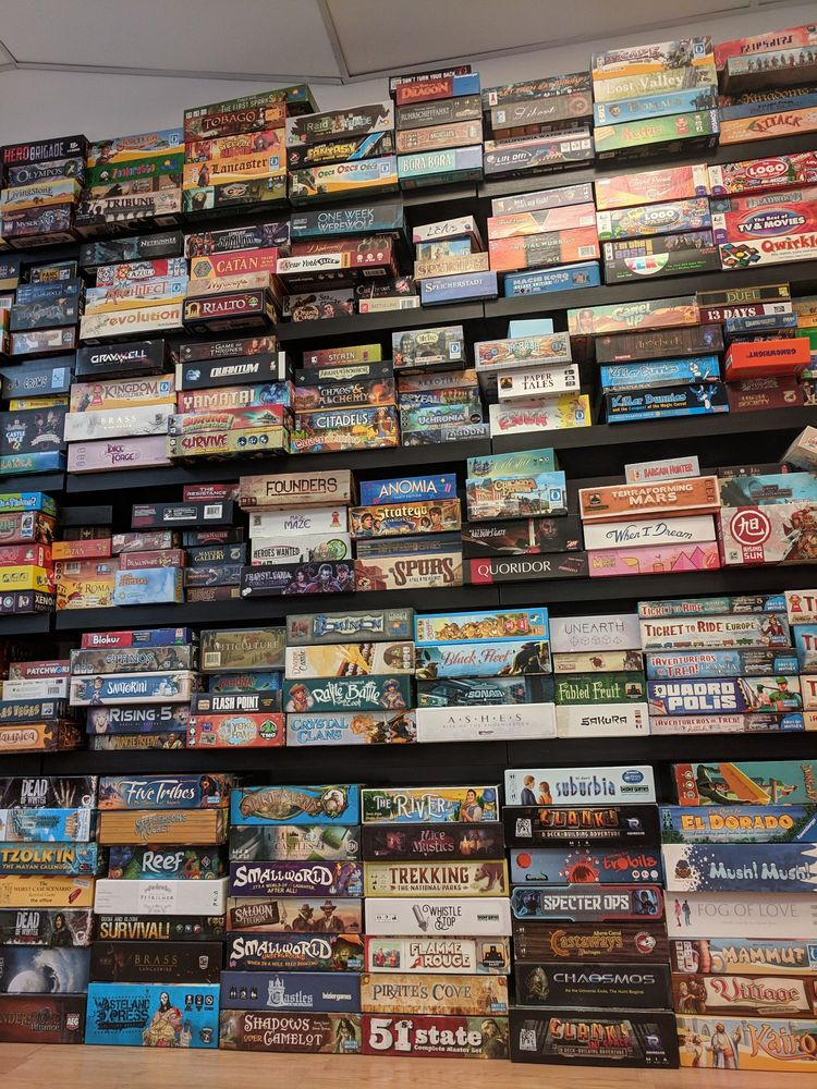 The Basement Board Game Cafe: 6109 Ridge Ave, Philadelphia, PA
